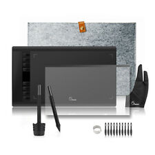Parblo A610 UGEE M708 USB Graphics Tablet+Rechargeable Pen+Film+10 x Nibs+ Bag