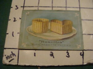 Orig booklet - EARLY - Kornia Kopia & Rosettes receipe booklet, as is V EARLY