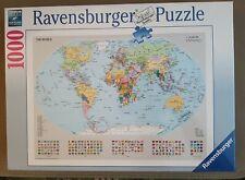 "NEW SEALED Ravensburger ""The World Map"" 1000 Piece Premium Jigsaw Puzzle"