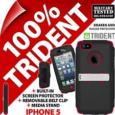 NEUF TRIDENT KRAKEN AMS Protection résistant COQUE ROBUSTE Apple iPhone 5