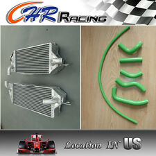 Aluminum Radiator and hose for KAWASAKI KX500 KX 500 1988-2004 1989 1990 1991