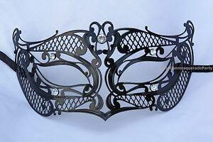 Metal Mens eye mask Masquerade Ball School Wedding Costume Bachelor Party prom