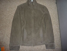 Marks and Spencer Per Una Khaki cord Coat / Jacket Size M Medium NEW RRP 74 eur