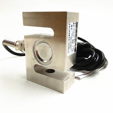 S TYPE Beam Load Cell Scale Sensor Weighting Sensor 5kg/11lb M8 With Cable