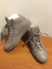 GIUSEPPE ZANOTTI May Mid Top Leather Trainers Sneakers Size UK 5