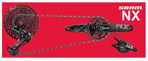 SRAM GRUPPO NX AQUILA 12 Velocità DUB + 34T + 170mm + BB30 + 6mm - Anno 2021