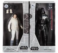 Disney D23 Expo Exclusive 2 Star Wars Action Figures Vader & Leia LE 1000 NEW