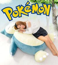 "Xmas 59"" Pokemon Giant Snorlax Stuffed Plush Kabigon Doll Bed Kids&GF Gift - EMS"