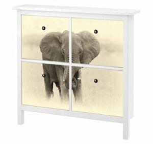 Ihr Bild Foto Möbelaufkleber Ikea HEMNES Schuhschrank Aufkleber Möbel Folie