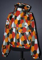 Vintage Nordica womens multi color winter jacket size 44