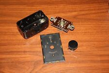 Vintage RCA WALL MOUNT 4 CHANNEL SELECTOR WITH BAKELITE KNOB, RETRO HOME THEATER