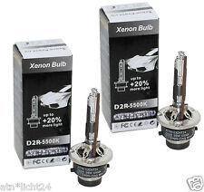 +20% Set D2R Lampen Brenner 5500K LKW mit Xenon MAN TGA FC 24V P32d-3 85V 35W