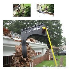 Gutter Cleaning Tool Home Outdoor Leaves Safety Glasses Heavy Duty No Ladder New