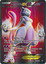 Mewtwo EX Full Art Ultra Rare Pokemon Card XY BREAKThrough 158/162