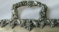 """Antique HUGE ENGLISH 28.25"""" x 17.5"""" Heavy Silver Plated Butlers Service Tray"""