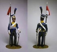 PEINT! Chevau-léger polonais 7ème rgt. Companie d'élite, France 1811 / 54 mm