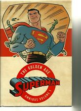 DC THE GOLDEN AGE SUPERMAN OMNIBUS HARDCOVER! FIRST EDITION! NM!