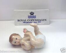 Royal Copenhagen Figurine - Neonata con Ciuccio - Royal Copenhagen Statuina