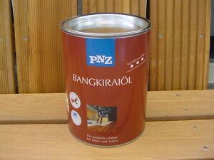 PNZ BANGKIRAI - Öl 2,50 Liter, Terrassen Öl für Bangkirai, Bangkiraiöl NEU