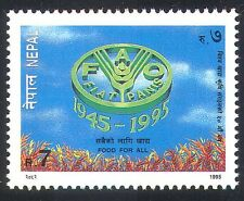 Nepal 1995 FAO 50th/Food/Wheat/UN/Welfare/Freedom From Hunger/FFH 1v (n22520)