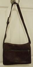 DKNY Brown Leather Shoulder Handbag Purse