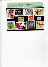 10 PCS ENGLAND UK/GB USED STAMPS # S239