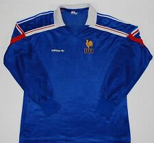 1985-1990 Francia Adidas Home Football Shirt (talla M)