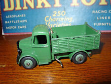 Dinky #25m Bedford Tipper - HTF Export Version - Green  W/Green Hubs!!