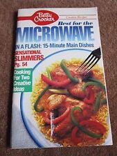 Microwave Cookbook FAST Recipes Salmon Artichoke Pasta Toss,Garlic Basil Burgers