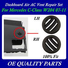 A/C Air Vent Right & Left Set Dashboard AC DASH for Mercedes W204 2007 - 2011