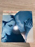 "Rupert Holmes – Him - 7"" Vinyl Record"