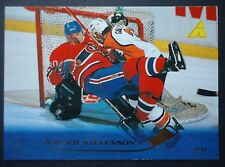 NHL 115 Turner Stevenson Montreal Canadiens Pinnacle 1995/96 (6,4 x 8,9)