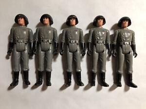 Vintage Star Wars Death Squad Commander x5 Loose Figures