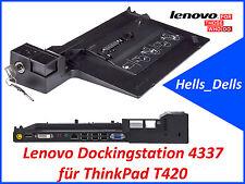 Original Lenovo Dockingstation 4337 für ThinkPad T420 mit Schlüssel