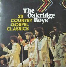THE OAKRIDGE BOYS - 20 COUNTRY GOSPEL CLASSICS  -  LP