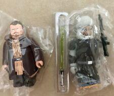 LOT 2 STAR WARS KUBRICK Figure QUI-GON JINN Jedi Bounty Hunter DENGAR be@rbrick