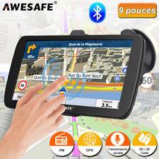 "Awesafe 9""gps Navigator Poi avec cartes 8gb Europe et Bluetooth Caméra de recul"
