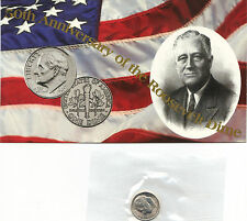 1996 W Uncirculated With Coa Roosevelt Dimes Nice Coin Still In Mint Cello L@K