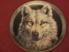 Wolf collector plate Vivi Crandall Mystic Spirit #3 Wolves Wildlife
