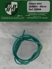 AVANT 20804 SILICON GREEN WIRE 28AWG 50CM 1/32 NEW 1/32 SLOT CAR PART