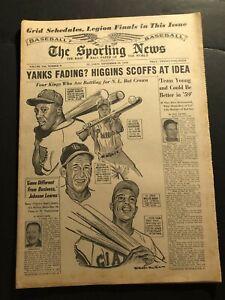 1958 Sporting News WILLIE MAYS Milwaukee HANK AARON Stan MUSIAL Richie ASHBURN