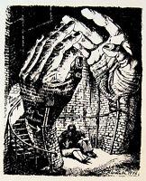 Polish SURREALIST ART BOOK Posters WW2 HOLOCAUST Horrors ATROCITIES Judaica