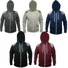 Unbranded Zip Neck Long Sleeve Hoodies & Sweats for Men