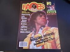 Rolling Stones, Supertramp, Asia, Krokus, The Call - Faces Rock Magazine 1984