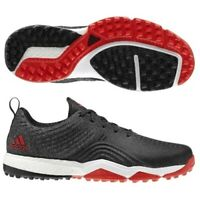 NEW Men's Adidas Adipower 4ORGED S Golf Shoes Black / Red / White Sz 12 M