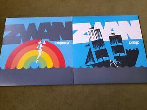 """ZWAN(SMASHING PUMPKINS)-LYRIC 7""""+HONESTLY 7""""(REPRISE)"""
