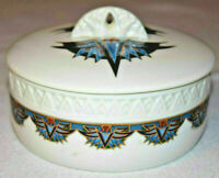 Elizabeth Arden Egyptian Treasures Of The Pharaohs Royal Pyramid Vtg Powder Box