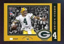 Brett Favre Green Bay Packers NFL signed autograph photo print Framed