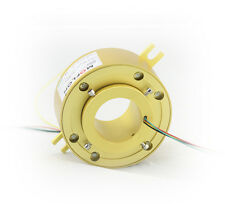MT50119 SLIP RINGS WITH BORE SIZE 50mm,6 wires/10A each,MOFLON slip ring