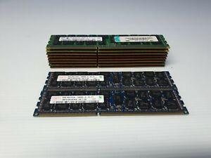 SAMSUNG / Hynix 8GB 2Rx4 PC3-10600R Server Memory M393B1K70CH0-CH9 Lot of 10 mix